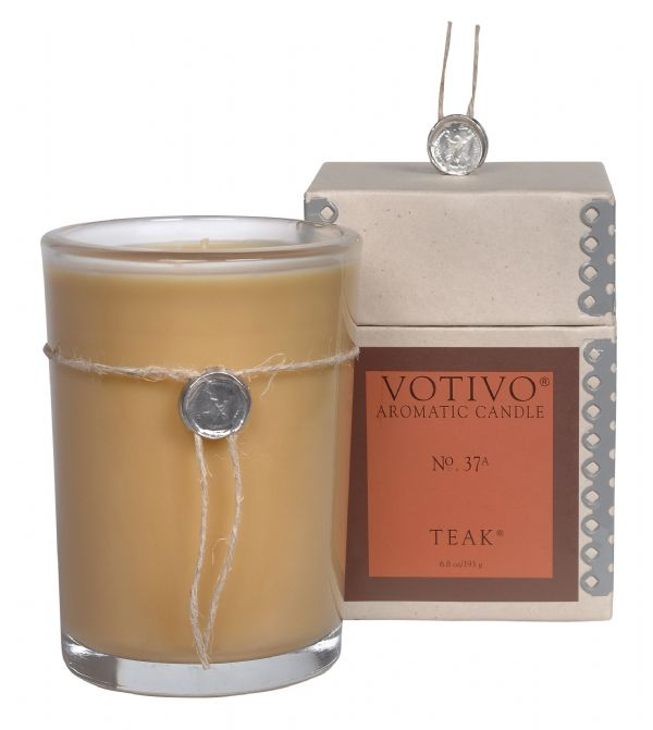 Aromatic Candle - Teak